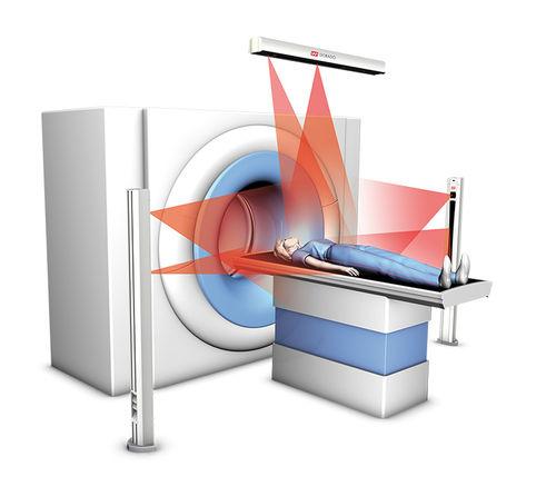Laser für Patientenpositionierung / für X-Scanner / rot
