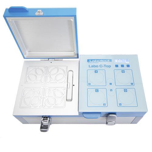 Labor-Inkubator / für Zellkultur / Tischgerät / kompakt / Doppelkammer