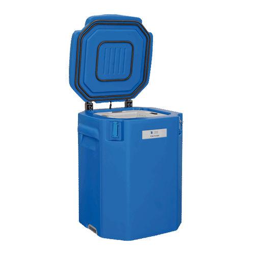 Kühlschrank für Impfstoffe / horizontal / Tiefkühler für Kühlakkus / solarbetrieben