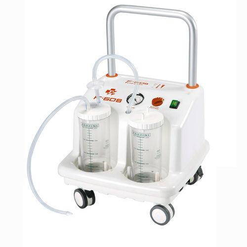 Chirurgische Absaugpumpe / Batterie / für Kleinchirurgie / für Thoraxchirurgie / auf Rollen