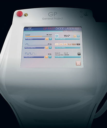 Laser für zur Epilation / Dioden / auf Wagen GP FAST General Project