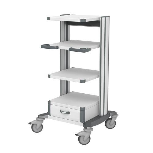 Gerätewagen / Anästhesie / für Sterilisierungsabteilung / andockbar
