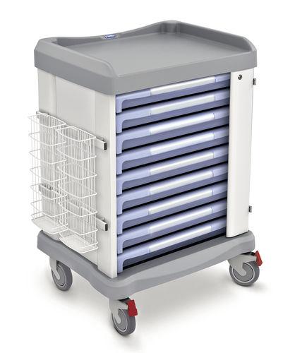 Wagen für Transport / für Endoskop / mit Schublade