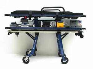 Fahrtrage für Krankenwagen / elektrisch / für Säuglingsinkubatoren / dreiteilig TIM410A4 Kartsana Medical