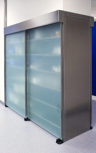 Schrank zur Probeneinlagerung / für Laborproben / für Labors / Türen NSP-RW-1600, NSP RW-2400 KUGEL medical GmbH & Co. KG