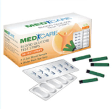 All above Medicare diabetic test strips