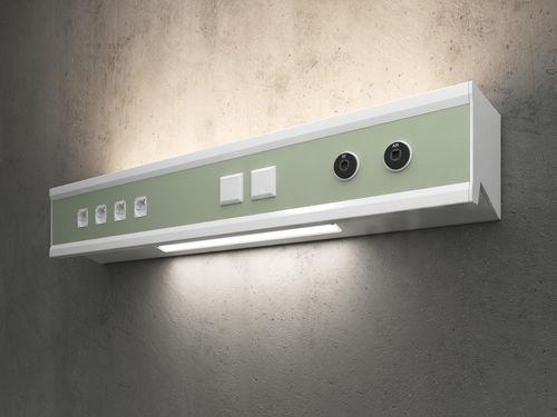 Horizontale Versorgungseinheit / Licht ambient compact Modul technik