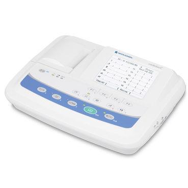 Ruhe-Elektrokardiograph / digital / 3 Kanäle / mit Drucker ECG-2150 Nihon Kohden Europe
