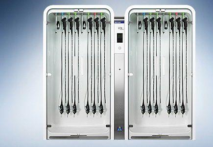 Schrank mit trocknerfunktion für endoskop krankenhaus edc
