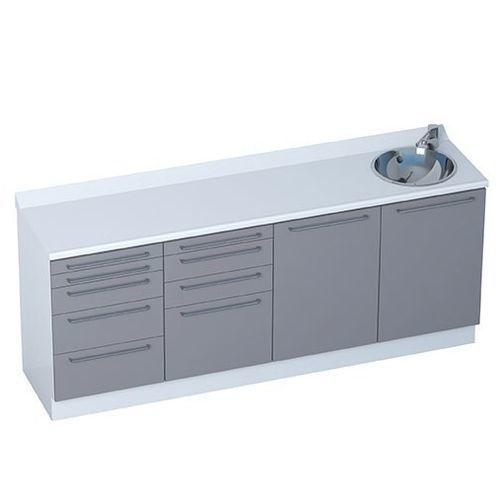 Schrank / 4 Schubladen / 5 Schubladen / modular / 4 Module