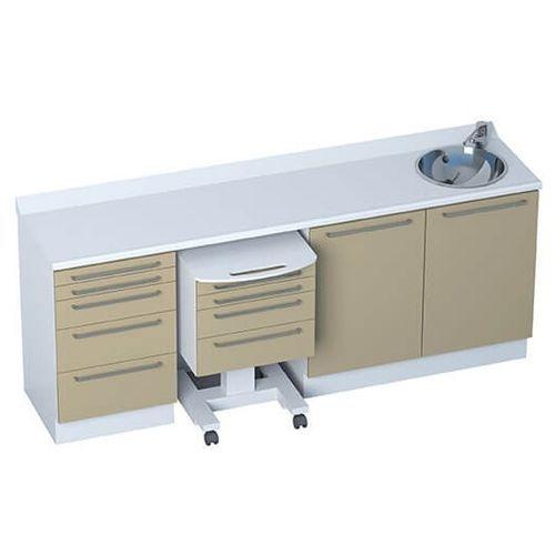 Schrank / 4 Schubladen / 5 Schubladen / Waschbecken / modular