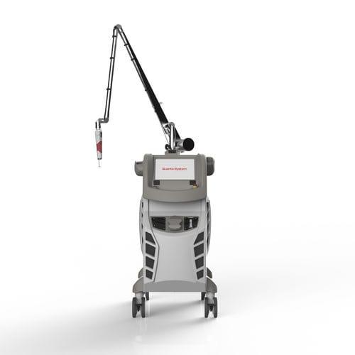 Laser für Pigmentläsionen / zur Tattooentfernung / Nd:YAG / Rubin