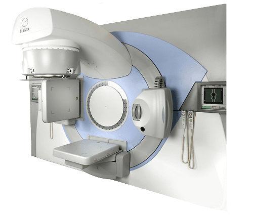 Partikel-Linearbeschleuniger / bildgeführte Radiothérapie / mit vollautomatisierter Positioniertisch Synergy® Elekta