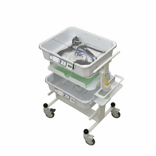 Transportwagen / für Endoskop / mit Platte / 4 Ebenen Soluscope TROLLEY Soluscope