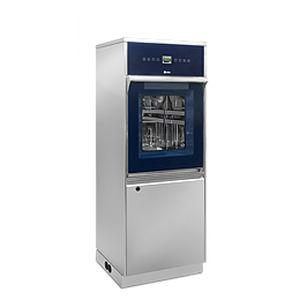 Reinigungs- und Desinfektionsgerät / für Labors / für Glasware / mit Fußgestell / Frontlader LAB 600 Steelco