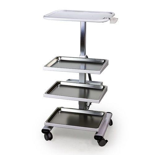 Chirurgie-Wagen / Lager / für Medizinprodukte / 4 Ebenen