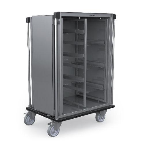 Schrank für sterile Gegenstände / für Sterilisationsmaterial / mit Tür / mobil