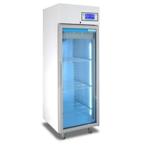 Kühlschrank für Apotheken / vertikal / automatisches Abtauen / Edelstahl