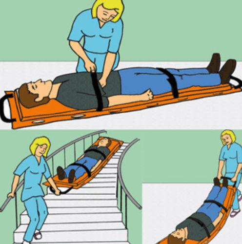Matratze für Nottransfer