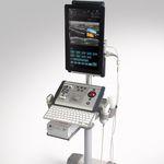 Ultraschallgerät / tragbar, mit Transportwagen / für urologische Diagnostik / Schwarz-Weiss / Farbdoppler