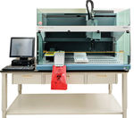 Labor-Probenvorbereitungsgerät / per Pipettierung / Serum / Plasma
