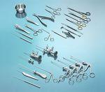 Instrumentenset für orthopädische Chirurgie (arthroskopische Chirurgie)  KARL STORZ