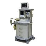 Anästhesiearbeitsplatz auf Wagen / Atmungsmonitoring