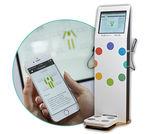 Körper-Analysewaage / Bioimpedanzmessung / durch Segmentierung / zur Fettmessung / mit Digitalanzeige