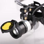 Dental-Stirnleuchte / LED / Akku / mit tragbarer Lichtquelle