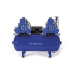 Kompressor für Zahnmedizin / für Fräsmaschinen / mit Lufttrockner / Membran