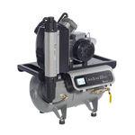 Kompressor für Zahnmedizin / mit Lufttrockner / ölfrei / Membran