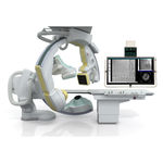 Fluoroskopie-System / digital / für Röntgendurchleuchtung des Herz-Kreislaufsystems / mit bodenmontiertem Leuchtverstärker