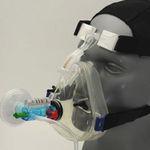 CPAP-Maske / Sauerstoff / Gesicht / zum Einmalgebrauch