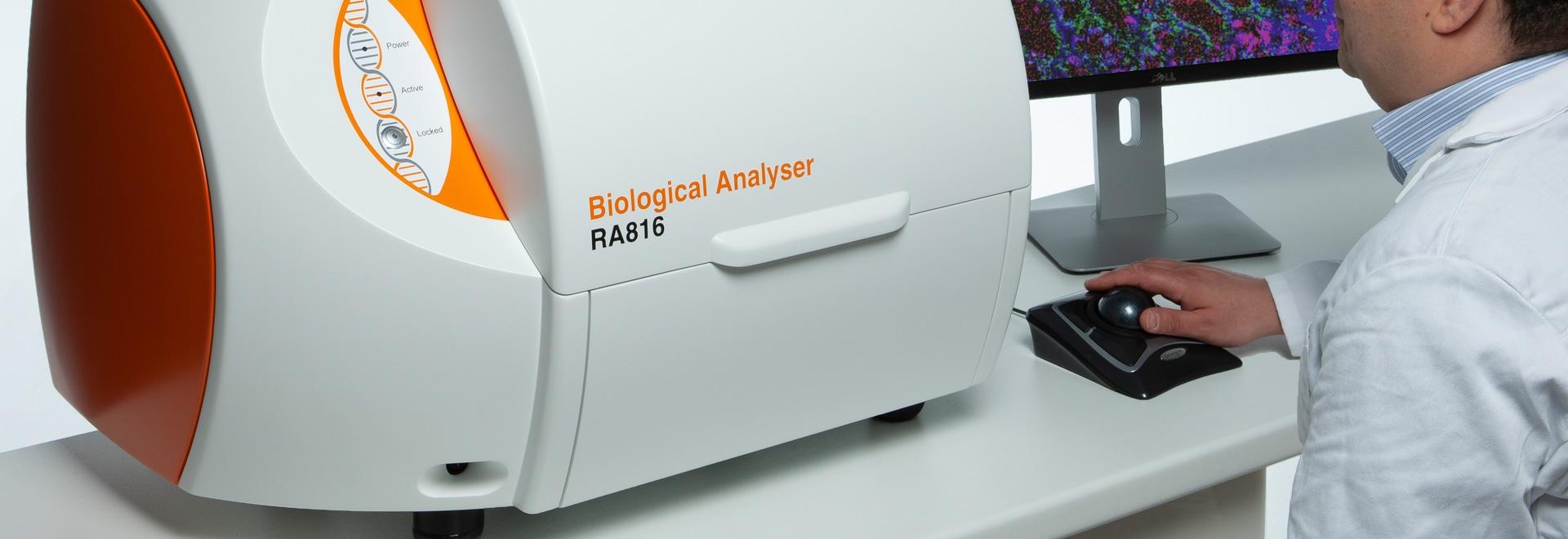 Analysator sammelt ausführliche biologische Informationen