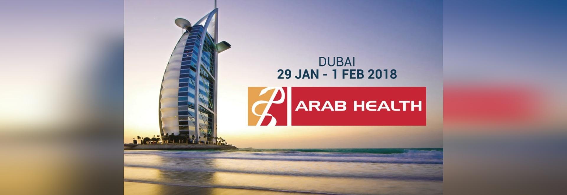 Echolight an arabischer Gesundheit 2018 in Dubai.