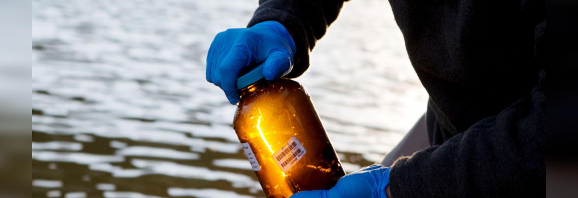 Flaschen vereinfachen die Spurhaltung, Transportieren von Proben