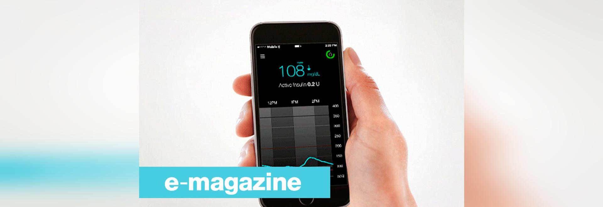 Geduldige Diabetesdaten direkt sichtbar auf einem Smartphone
