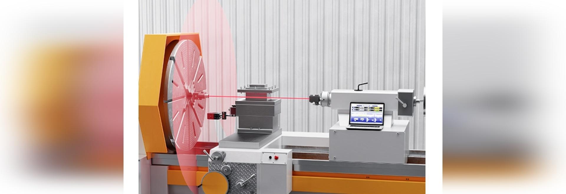 Laser überprüfen und justieren Maschinen-Ausrichtung