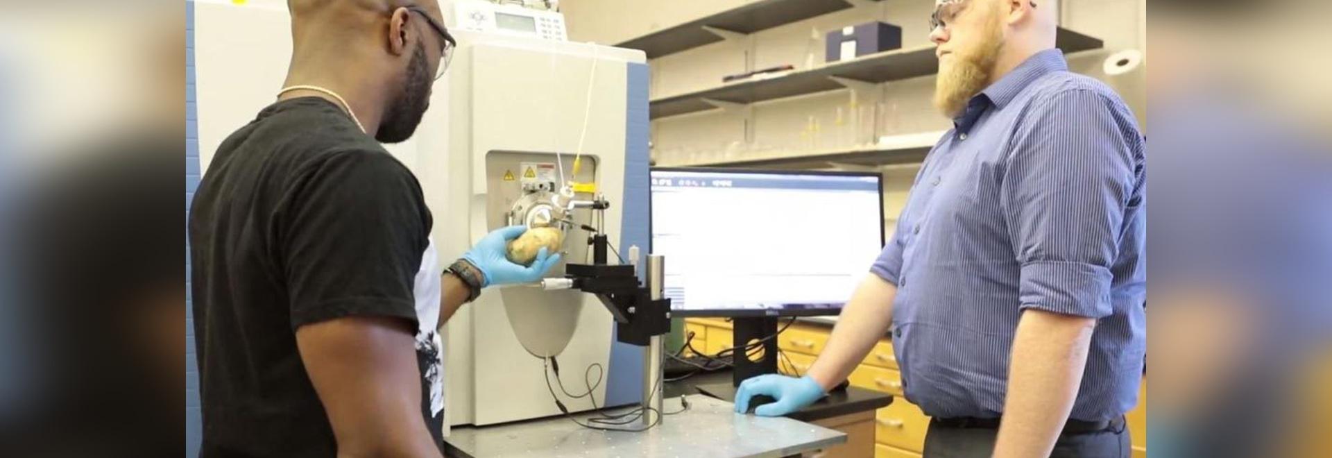 Massenspektrometrie-Entdeckung für die Massen