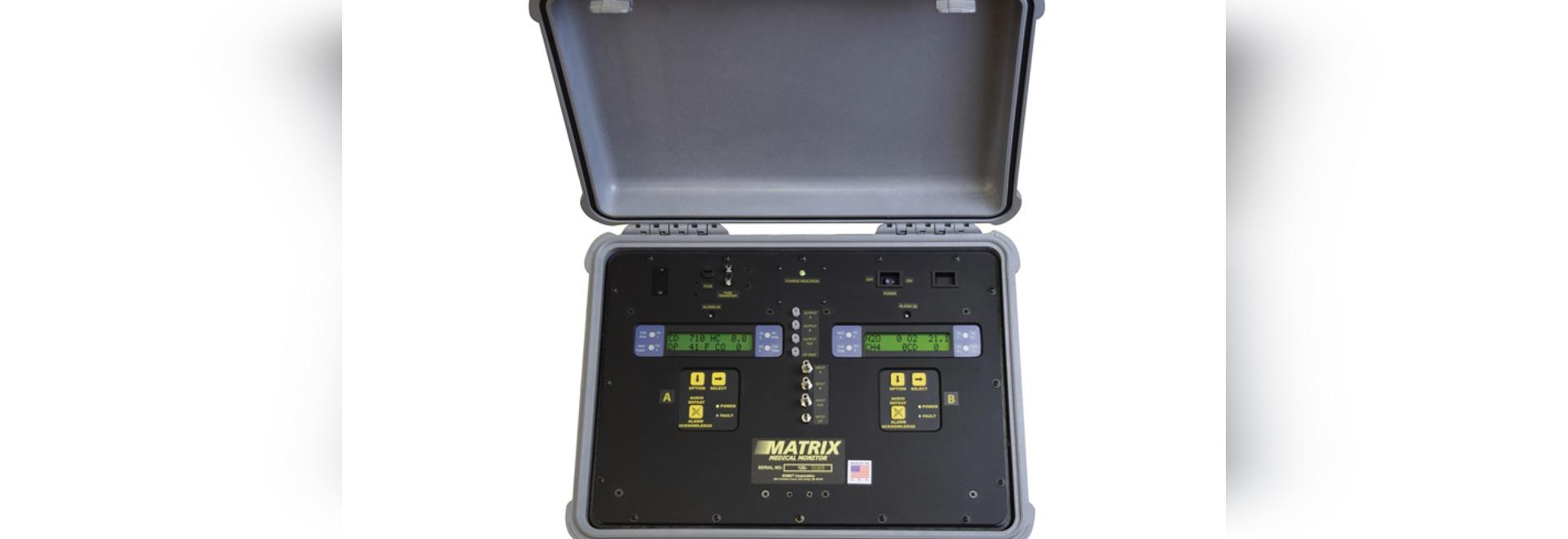 Multi-Sensor analysiert medizinisches Gas