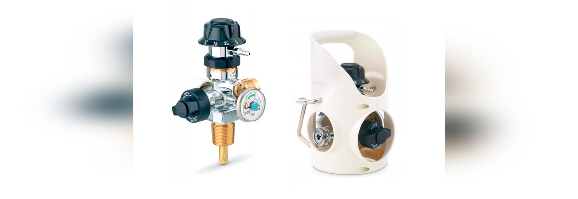 NEU: SauerstoffDruckregelventil durch CEODEUX MEDITEC