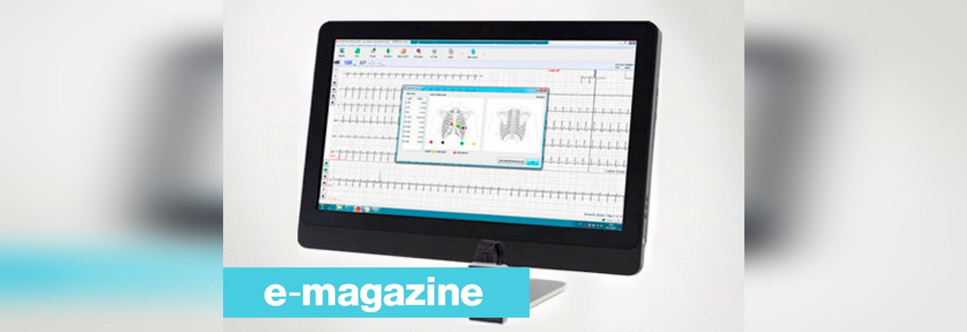 Ein neues ECG-System, zum von Herzabweichungen zu ermitteln
