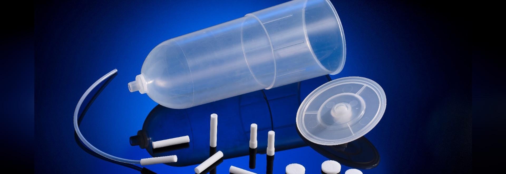 Poröser Kunststoff der nächsten Generation für Anwendungen im Gesundheitswesen