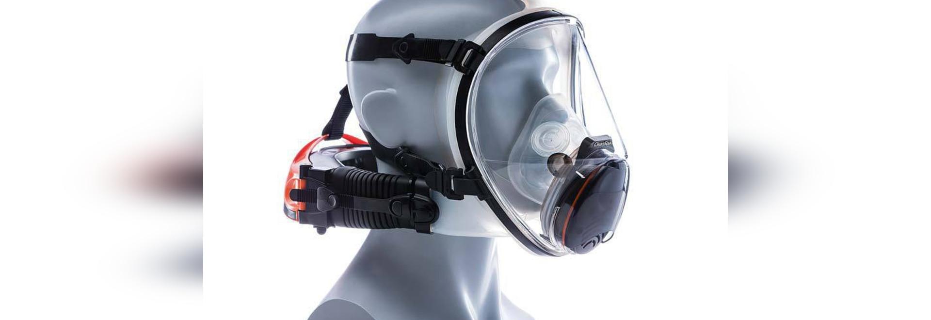 Respirator bietet volles Gesichts-Schutz