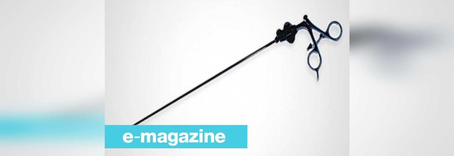 Stryker stellt Laparoscopic Instrumente 5-Millimeter in der Länge 45-cm dar