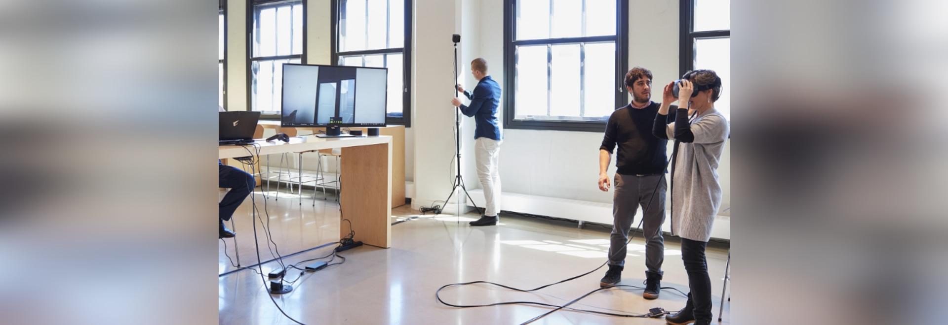 Vergrößerung von Gesundheitswesen-Planung durch virtuelle Realität