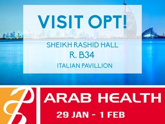 OPT an der arabischen Gesundheit Dubai