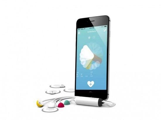 Smartphone-ansässiges ECG