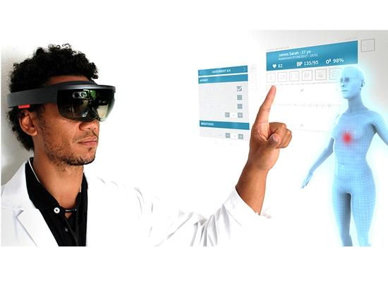 Exelus schafft Nomadeec, eine aufregende wechselwirkende HoloLens-Fernmedizin-Plattform