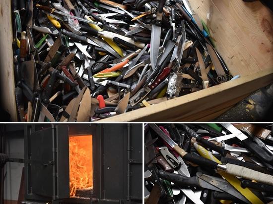 Inciner8 unterstützt die gemeinnützige Organisation Messerkriminalität, indem es Waffen in Fitnessstudios verwandelt